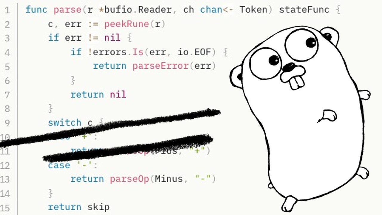 "Go Mascot ""Gopher"" and Source Code"