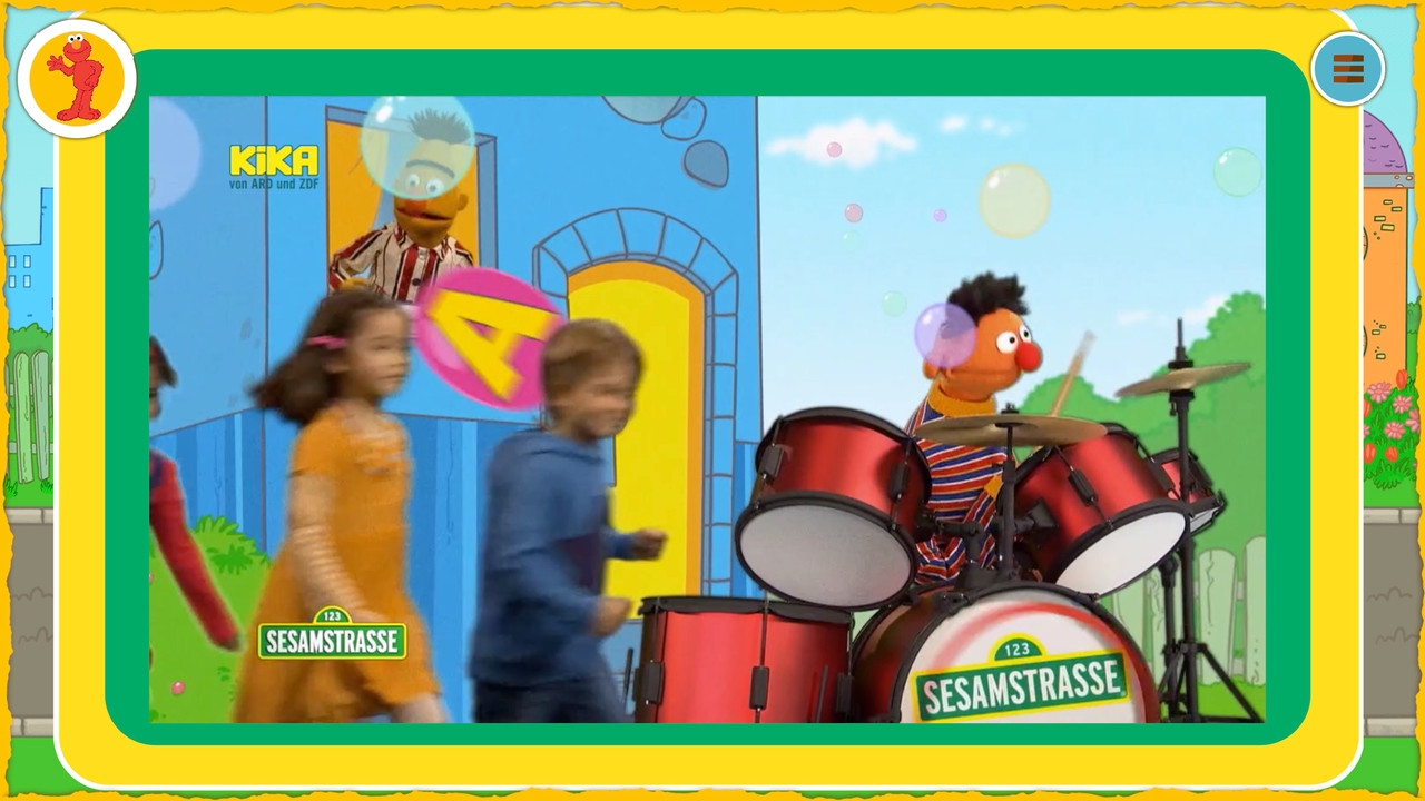 German Sesamestreet webpages at Kikaninchen